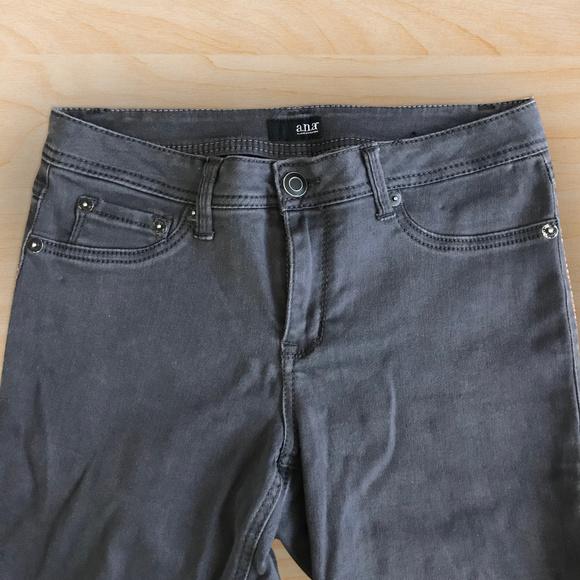 a.n.a Denim - A.n.a. Stretchy Skinny Jeans (Gray)